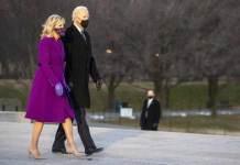 Joe Biden con la moglie Jill