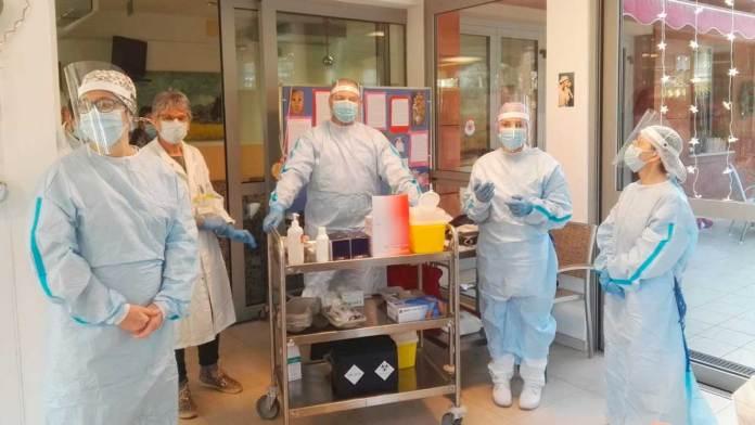 Vaccinazione a Villa Verde
