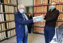 Giorgio Montanari e assessore Zavatta