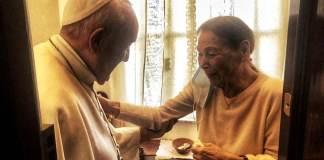 Papa Francesco con Edith Bruck