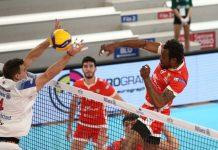 Martins Arasomwan in azione contro Milano