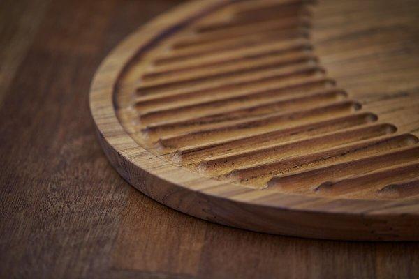 Rubber Wood Skærebræt RISVIG Lignus