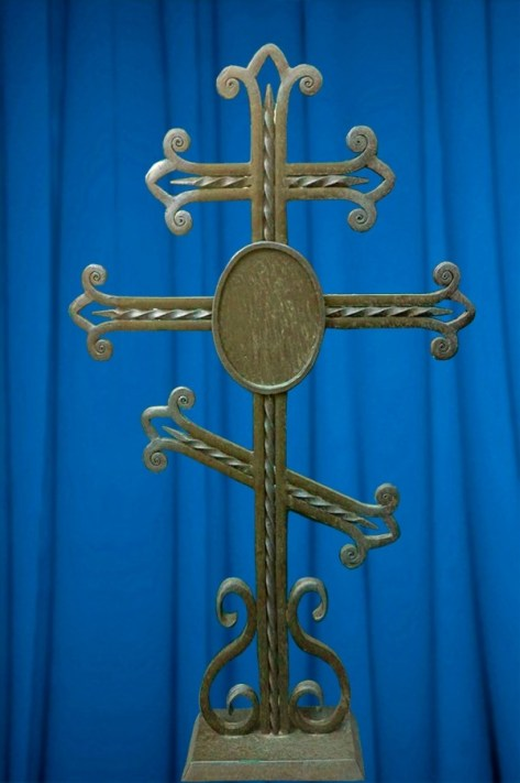 Кованый крест 1