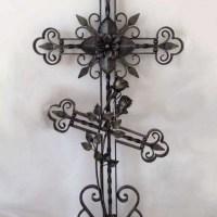 Кованый крест №5a