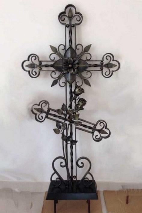 Кованый крест 5a