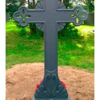Кованый крест №11
