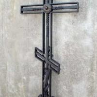 Кованый крест №28