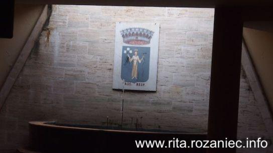 Herb miasta – św. Rita!