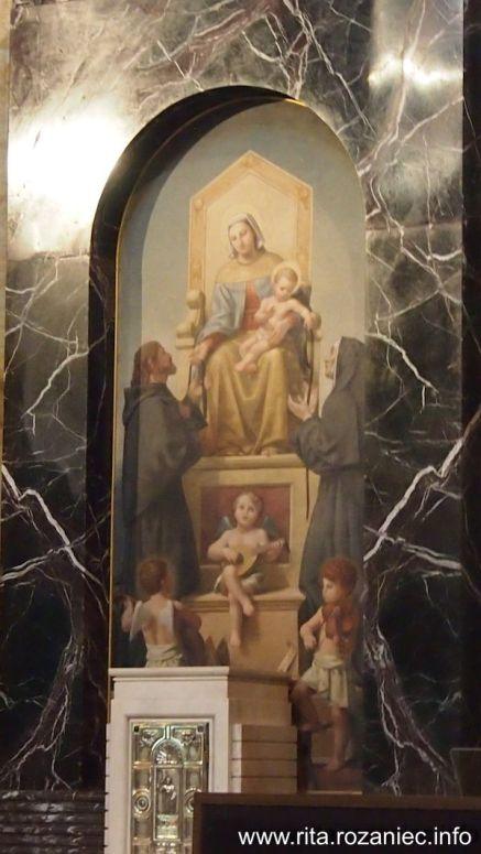 Maryja, Dzieciątko Jezus i św. Dominik