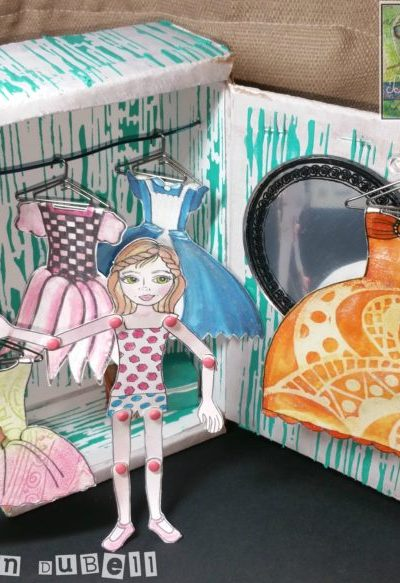 In Her Wardrobe – Diorama for Dolls