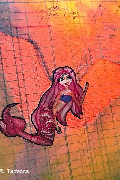 Mermaids and angels, Scrapbook Adhesives by 3L ~ Product Spotlight