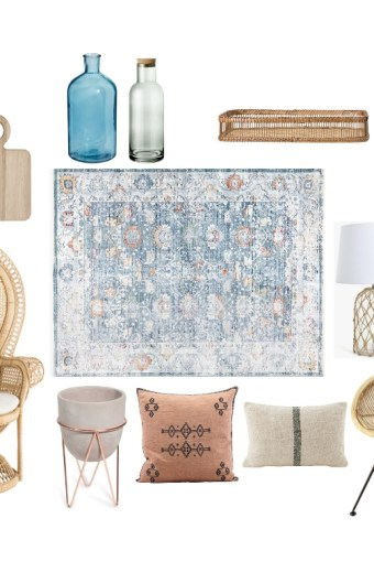 Home Tour: lo stile Coastal incontra il Boho