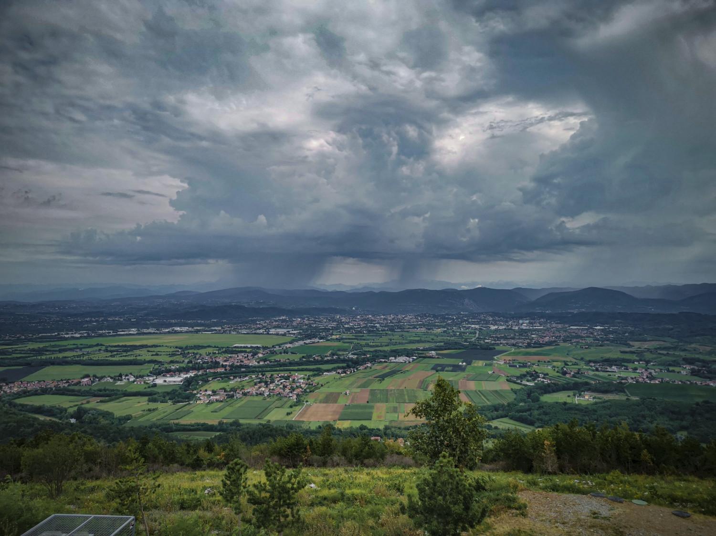 Panorama dal Cerje