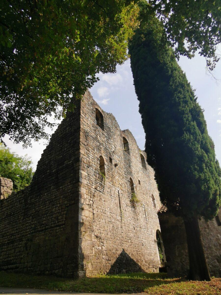 I resti del Castello di Maniago