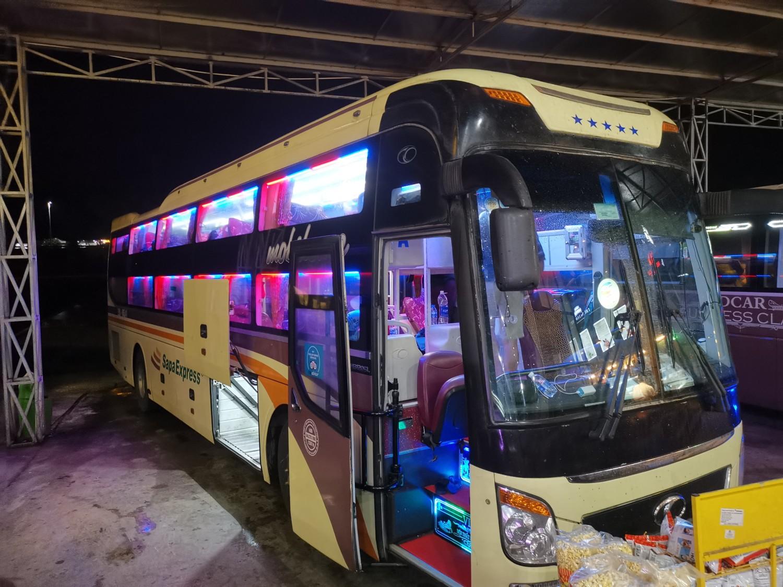 Uno sleeping bus