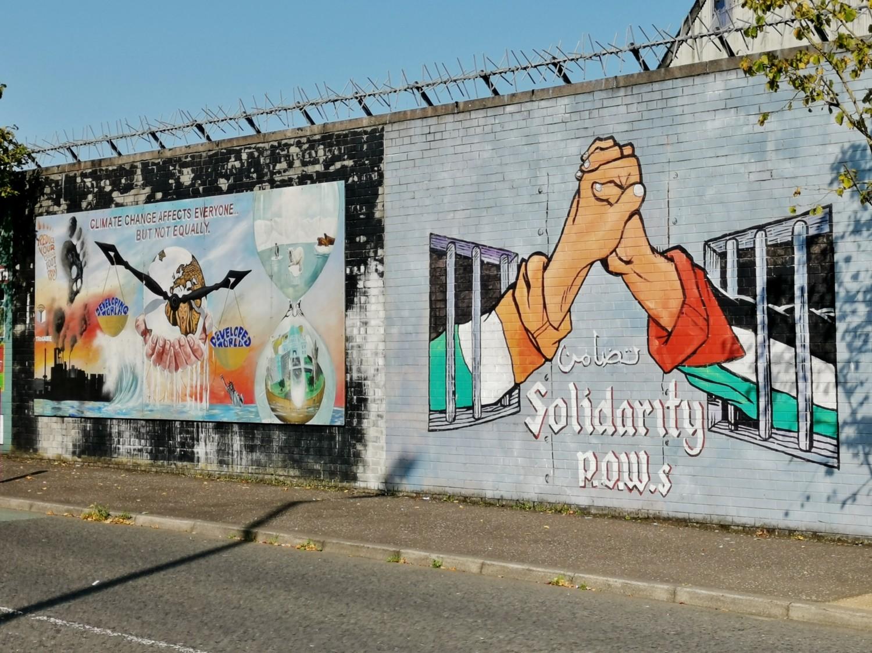 Murale pro Palestina