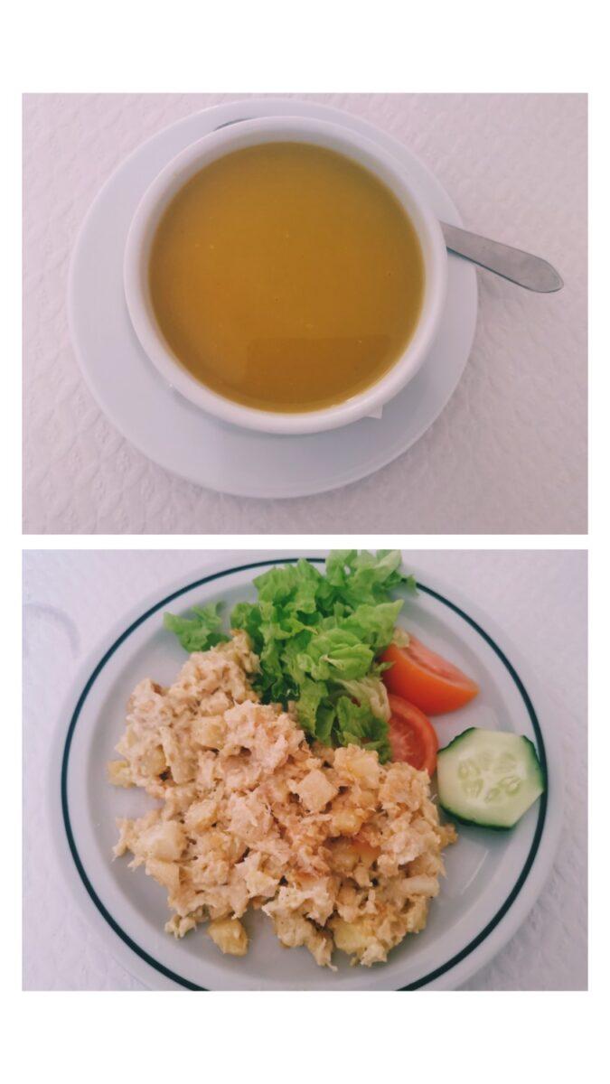 Zuppa di verdure e baccalà