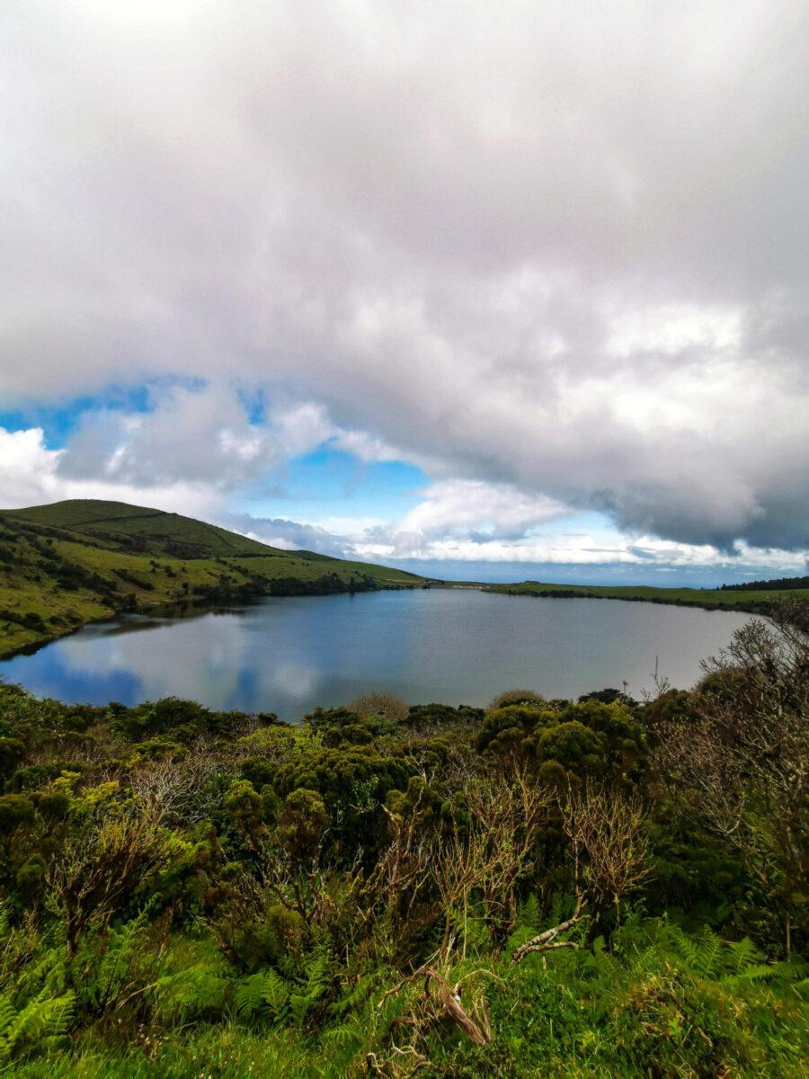 Un laghetto vulcanico