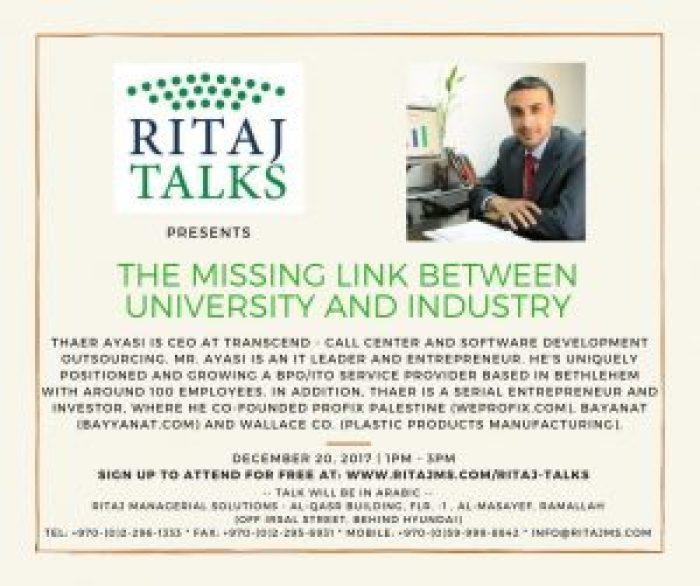 RITAJ Talks 8
