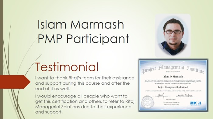 Project Management Professional - PMP 7