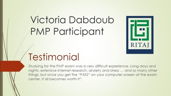 Project Management Professional - PMP 6