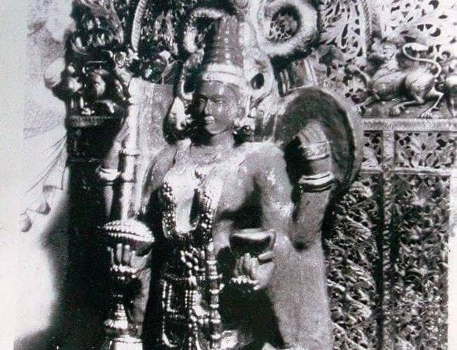 Old idol of mahalaxmi
