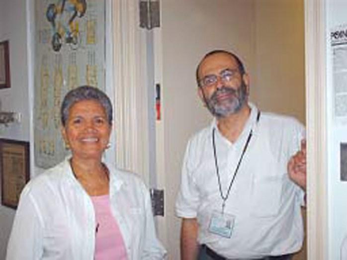 Rose Reyes og Carlos Alvarez