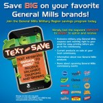 General Mills Text and Save