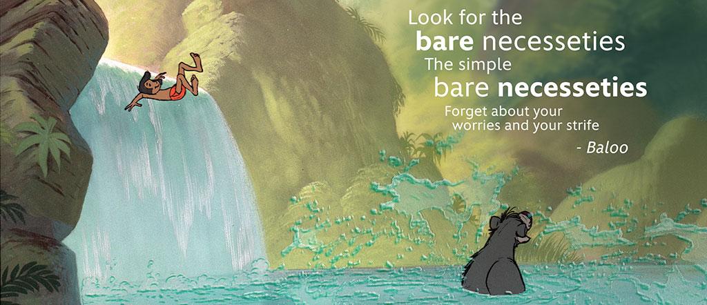 Familia Time with The Jungle Book #LoMasVital #BareNecessities #ad