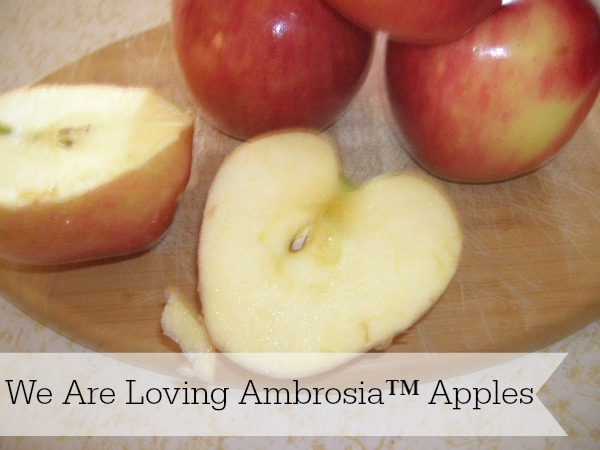 We Are Loving Ambrosia™ Apples