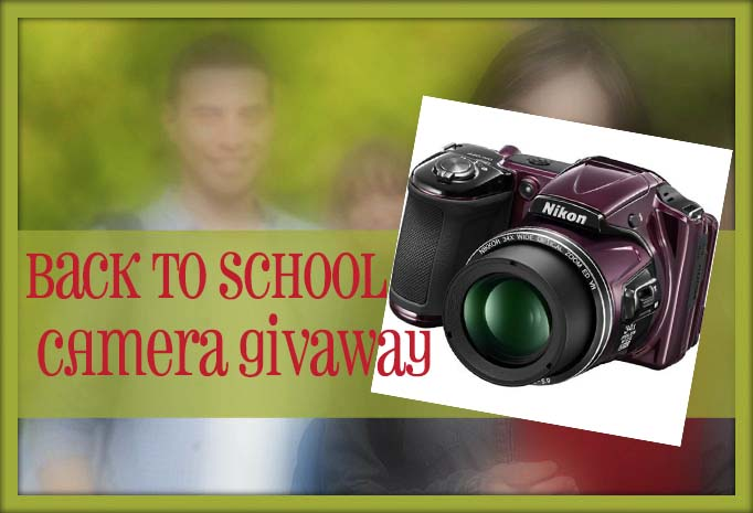 Back to School Camera Giveaway