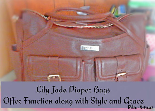 Lily Jade Takes Diaper Bags to A New Level