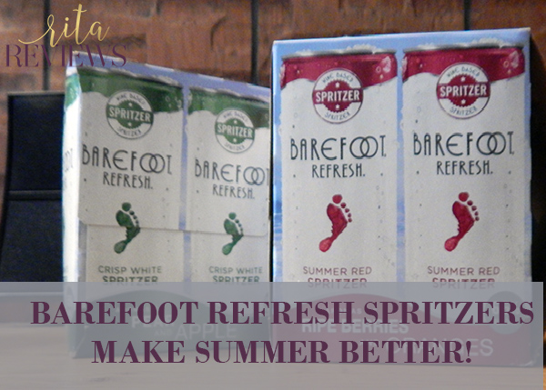 Enjoy the Summer with Barefoot Refresh Spritzers!