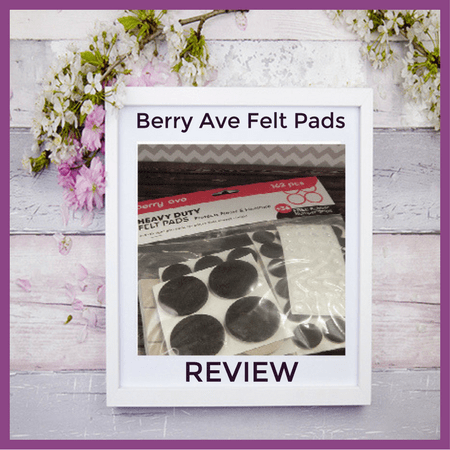 Felt Pads from Berry Ave #BerryAve