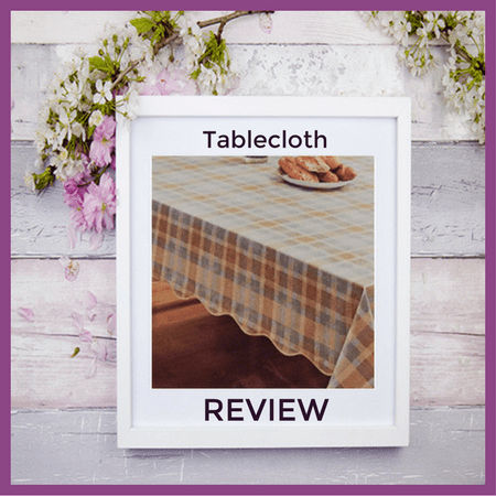 A Whole New Look with a Tablecloth