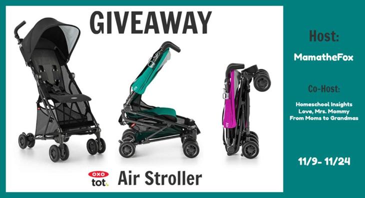 OXO Stroller Giveaway with MamatheFox