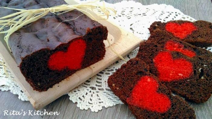 plum cake di san valentino