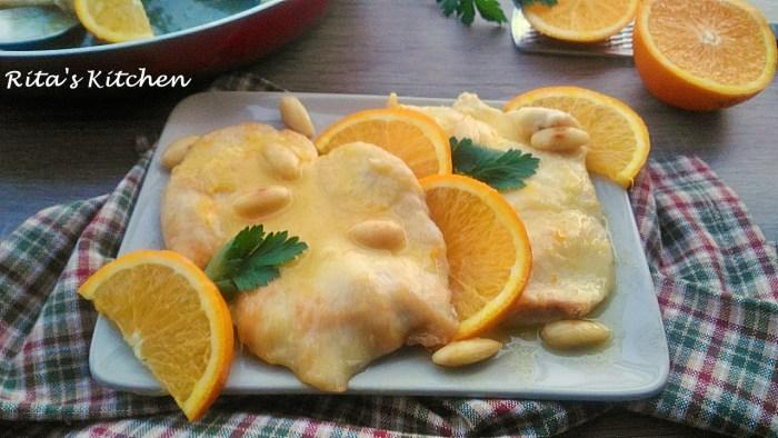 pollo all'arancia