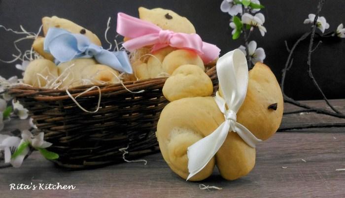 coniglietti di pan brioche