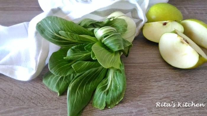 insalata di songino e mela verde