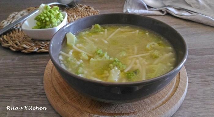 minestra di broccolo