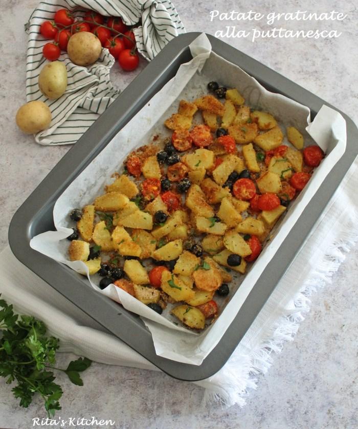 patate gratinate alla puttanesca