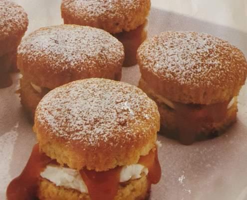 Butterscotch Cream Cupcake Recipe