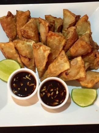Deep fried Pork and Shrimps wontons