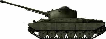 Panzer 58 first prototype ( KW 30/57) by tank encyclopedia's own David Bocquelet