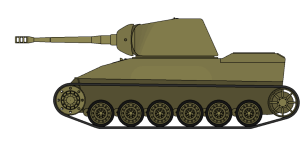 Panzerkanone II with altered hull ( more feasible conversion)