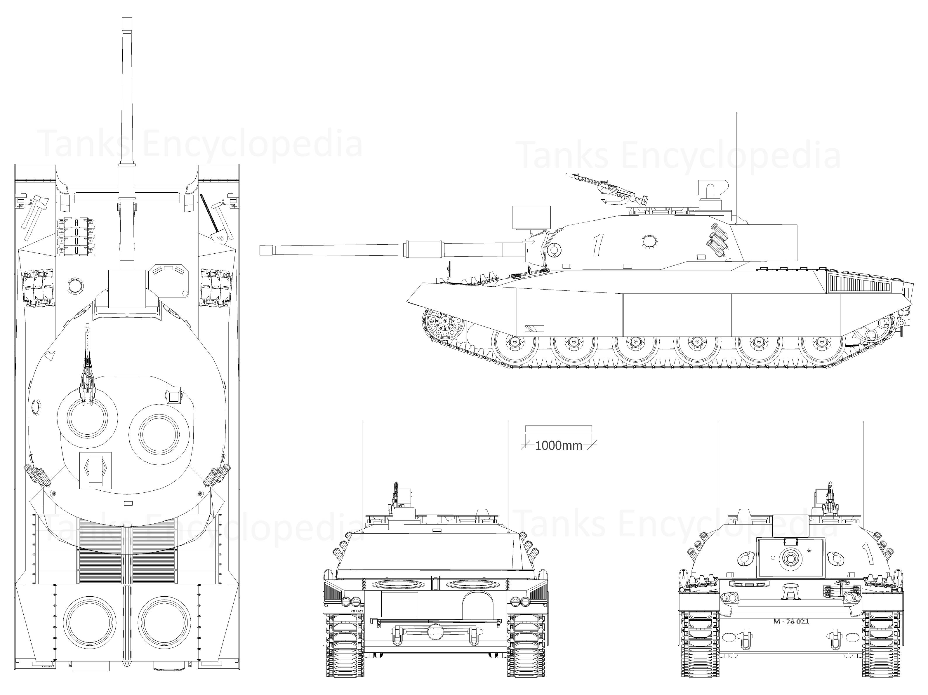 Panzer 74 4-side