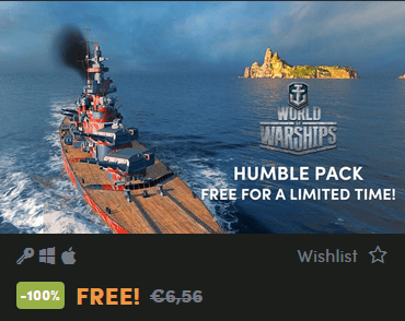 World of Warships: Humble Pack « Status Report