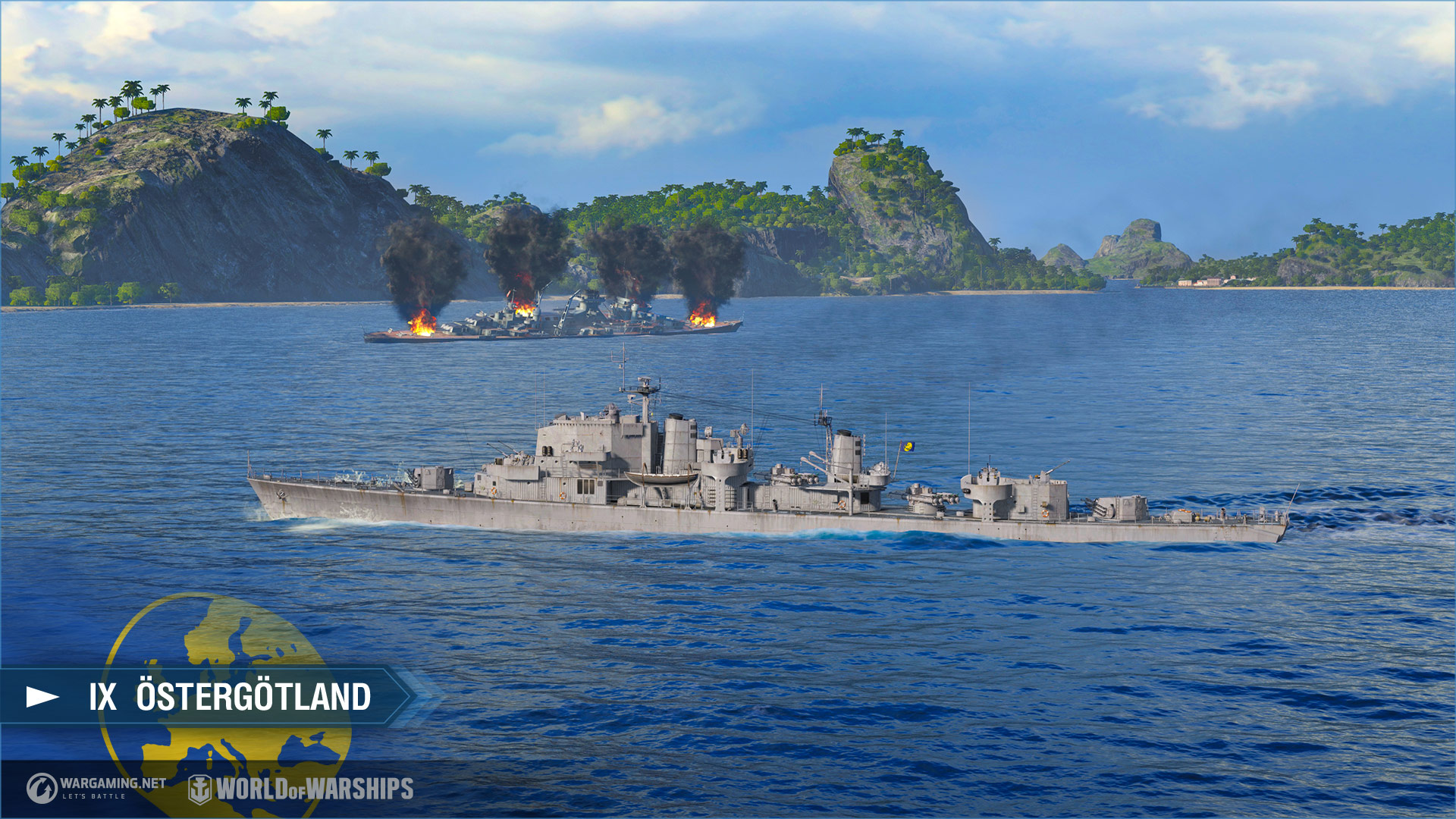 European Destroyers Branch Review Status Report