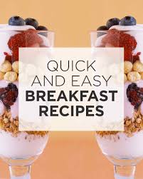 Fatloss Breakfast Recipes
